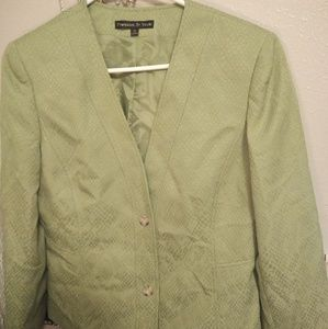 Green Blazer Jacket